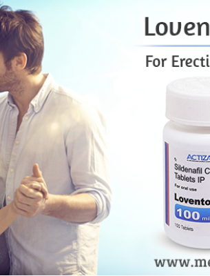 Treat Sexual Impotence with Generic Lovento Sildenafil Tablet